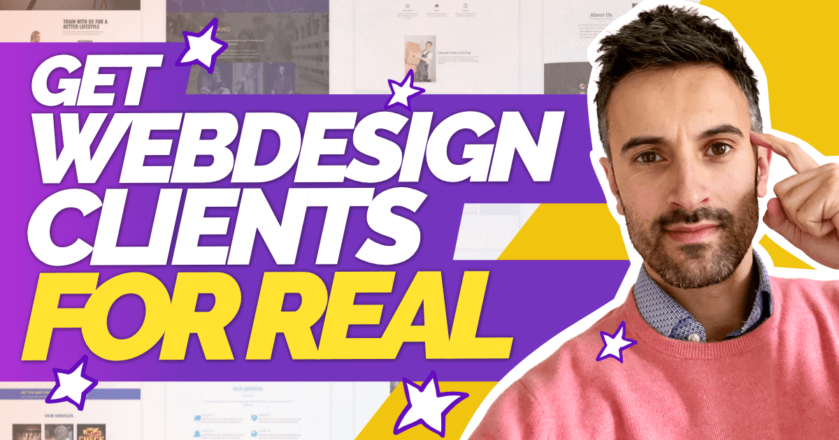 Get Webdesign Clients for real